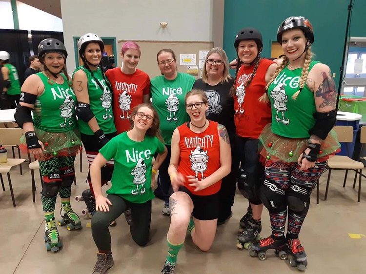 Badlands Hellraisers Participate in Naughty VS Nice Event